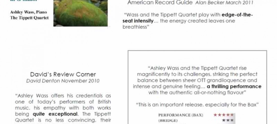 Bax & Bridge CD Reviews (2/2)