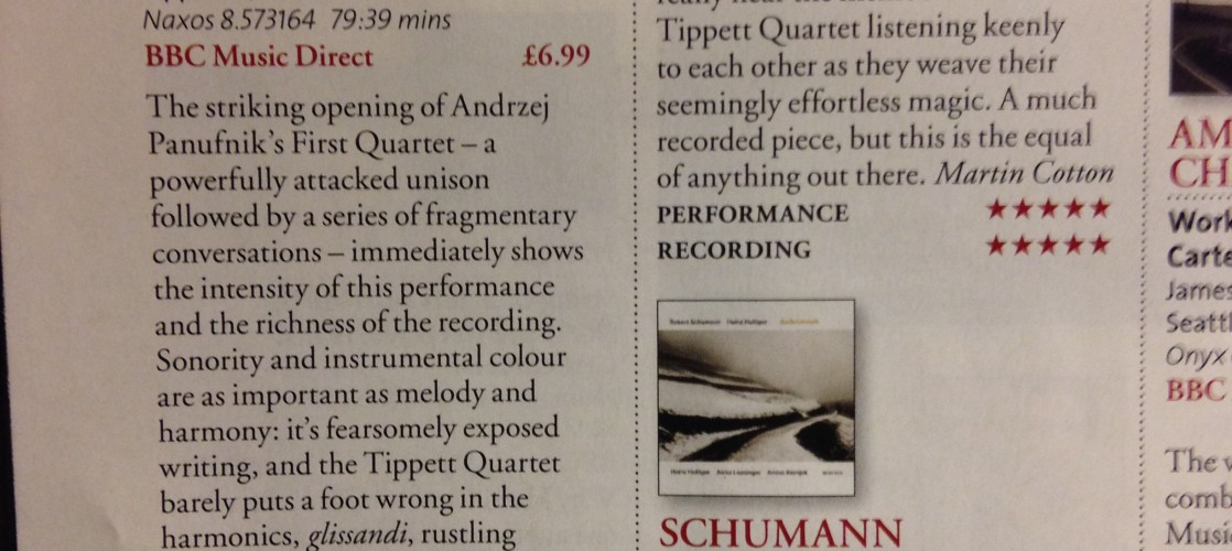 Panufnik and Lutoslawski CD Review – BBC Music Magazine